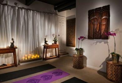 wie richte ich meinen yogaraum ein. Black Bedroom Furniture Sets. Home Design Ideas