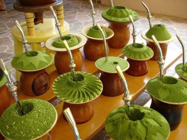 Zubereiteter Mate-Tee-Mate-Strauch Teesorten