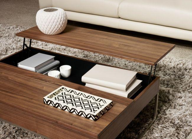 angesagte multifunktionale Möbel, Beistelltisch, Treppich-Einrichtungstrends