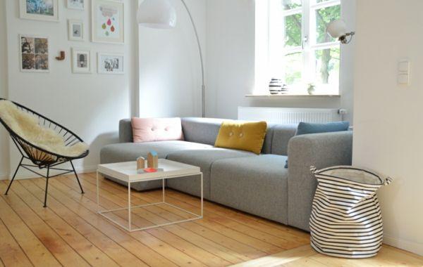 das skandinavische Design für das Wohnzimmer- Skandinavisches Design