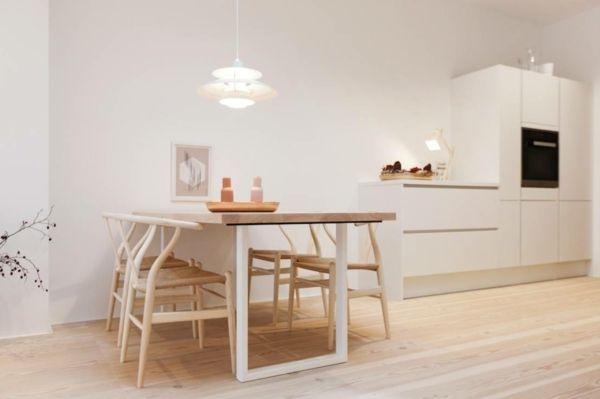 der nordische Stil verfügt über eine diskrete Charme- Skandinavisches Design