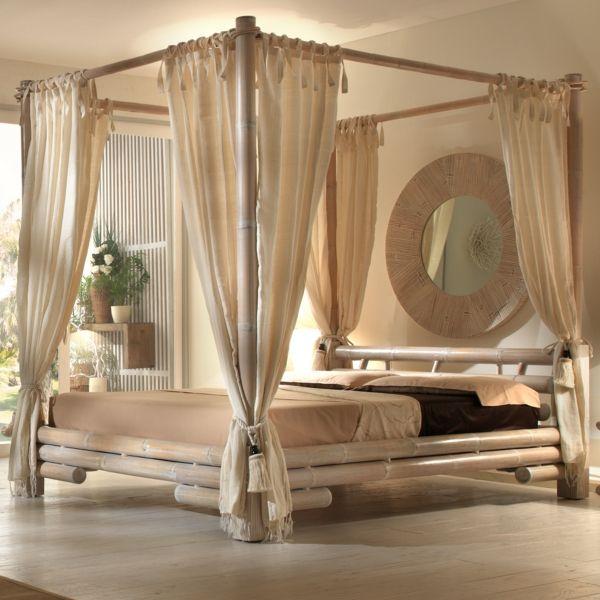 ein wunderschönes Bambus-Himmelbett-Bambus Dekoration