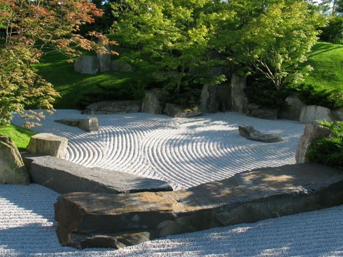 japanischer Garten - Zengarten-Gartengestaltung