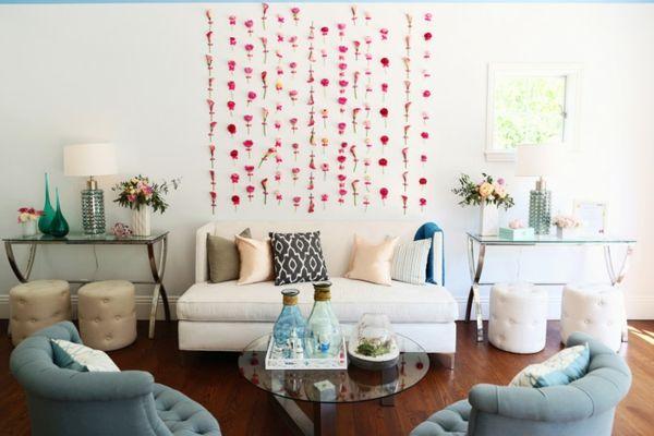 schlicht und schön im Wohnzimmer-idee schablone