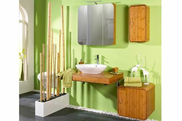 stilvolle Bambus-Möbel im Bad-Bambus Dekoration