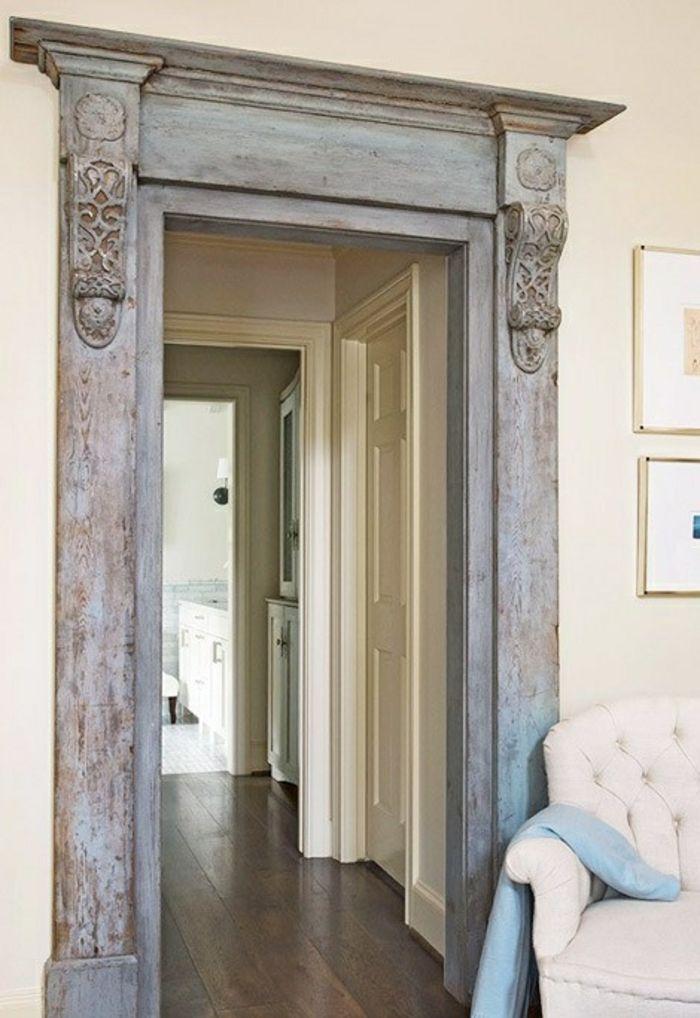 verzierter Türrahmen-zeitgenössische Deko Ideen für Ihr Zuhause
