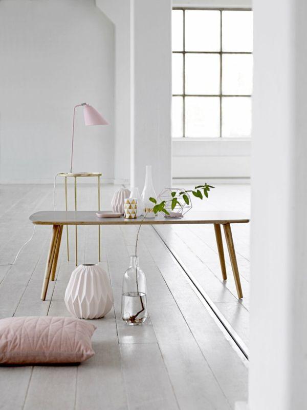 viel Frische und Helligkeit auch in kleine Räume- Skandinavisches Design
