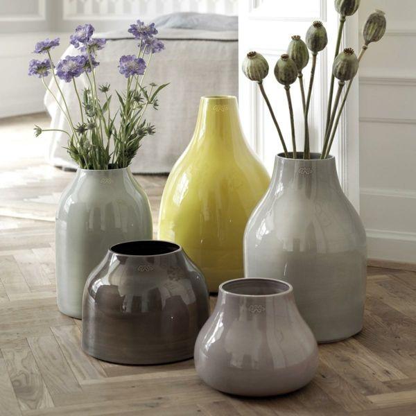 Accessoires-Vasen aus Keramik setzen Akzente