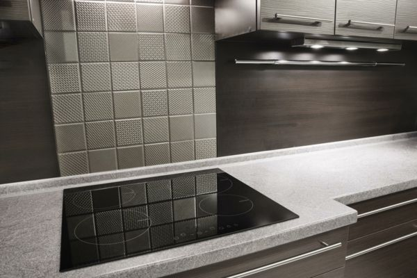 Arbeitsplatten Naturstein elegant Designer Küche