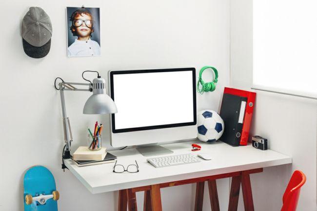 Arbeitstisch Lernbereich Junge modern