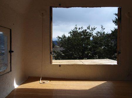 Architektur schlicht Bambusmatten