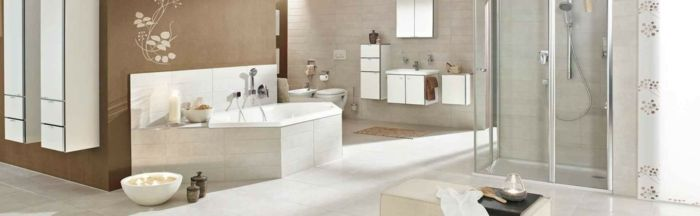 Badezimmer als Entspannungsort