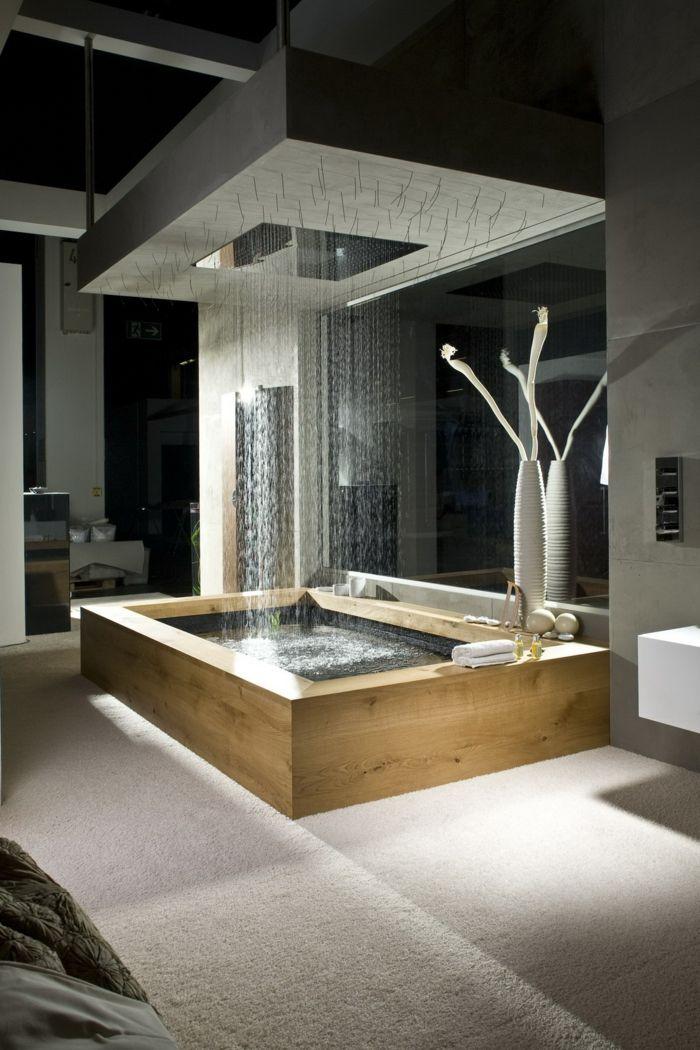 Badezimmer und Ruheraum