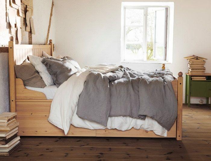 Schlafzimmer Kommode Weiß Ikea: Schlafzimmer im skandinavischen stil ...