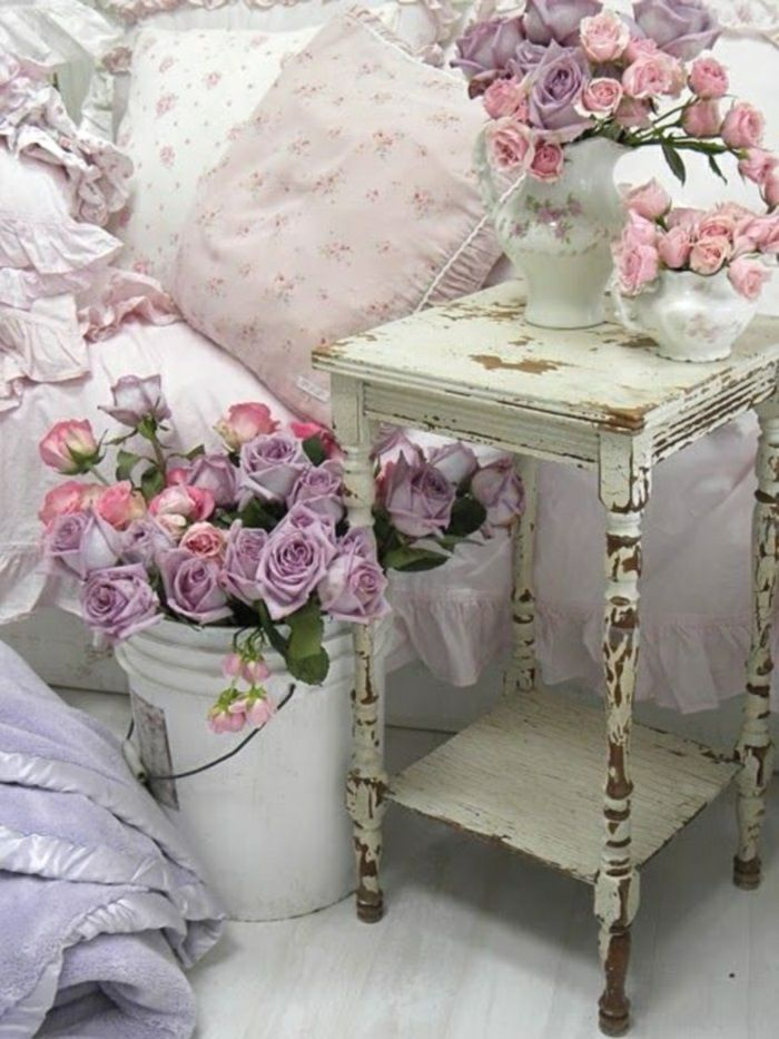badezimmer im shabby stil. Black Bedroom Furniture Sets. Home Design Ideas