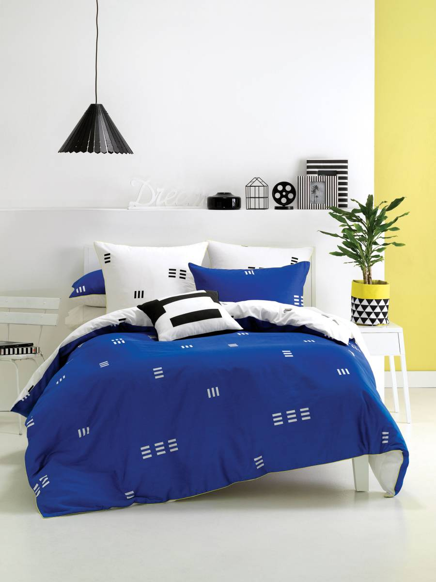 Bettwäsche geometrisch Jugendzimmer