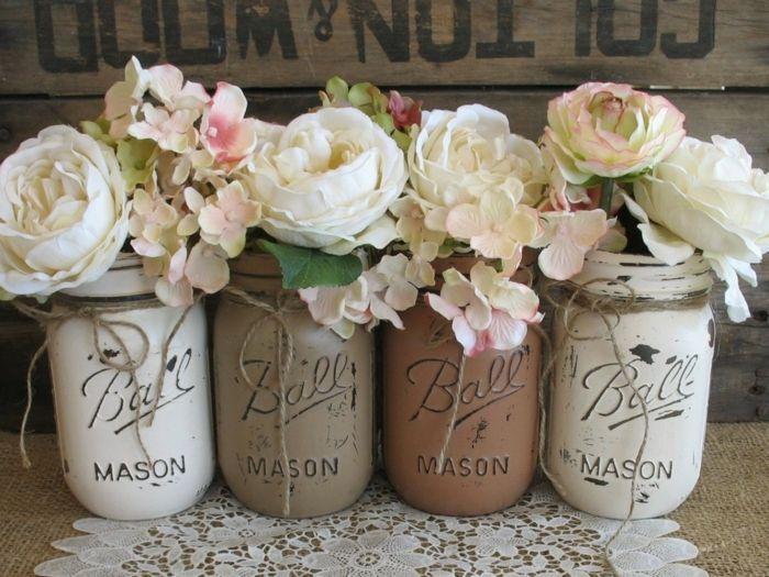 Blumen sind unerlässlich bei Shabby Chic-ideen shabby chic