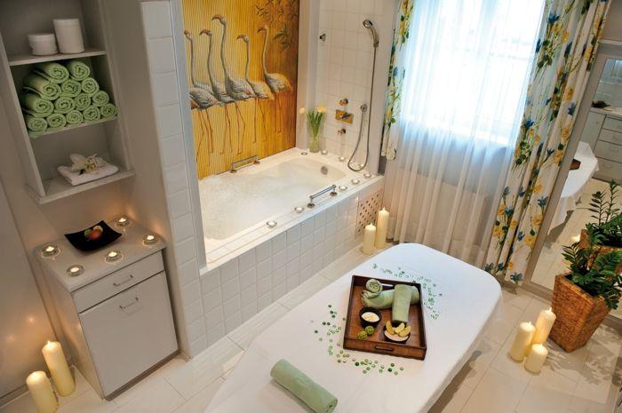 Das Badezimmer in eine Entspannungsoase verwandeln