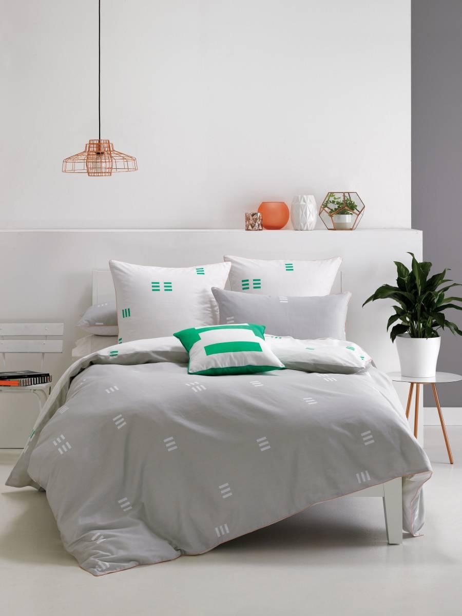Designer gemustert Bettbezug