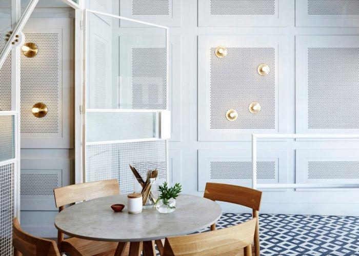 Eklektische Materialien sorgen für eine Ausgeglichenheit im Interieur-Einrichtung Bar Sydney