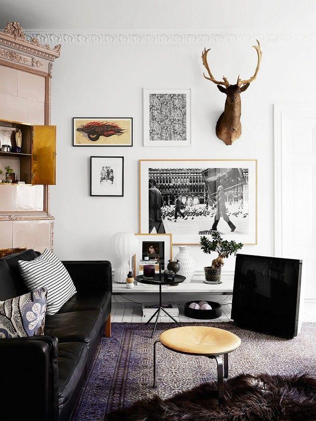 Eklektische und kunstvolle Gestaltung-Wohn-Typologie Fisch