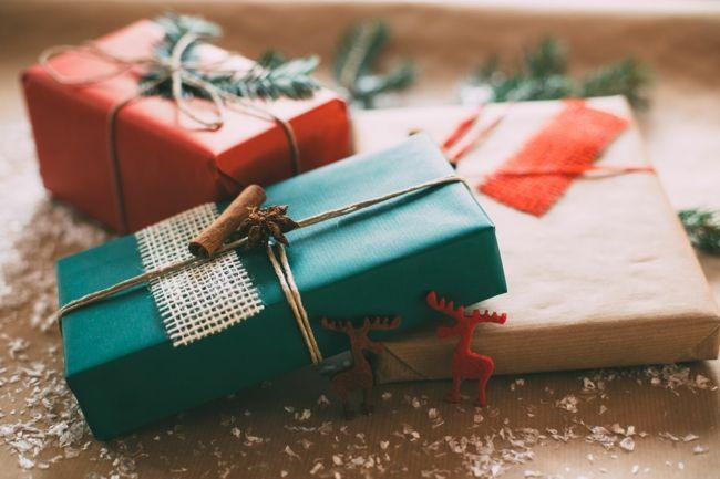 Elementen als Geschenkidee ordentlich was her-Geschenkpapier Weihnachtsgeschenk Bastelideen