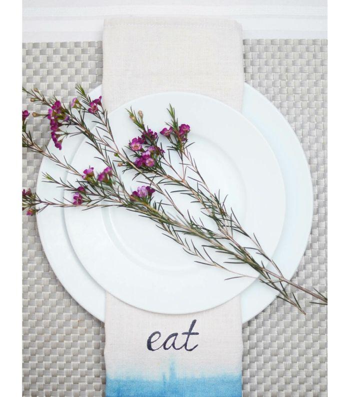 Farbverläufe Stempel DIY Blüten dekorieren