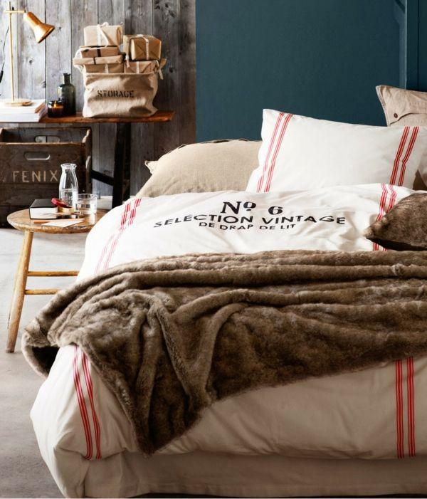 Feine Wäsche fürs Schlafzimmer-Wohnaccessoires