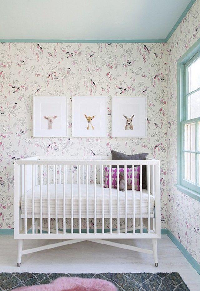 Kinderzimmer Tapete Oder Streichen : Babyzimmer kreativ (und budgetschonend) einrichten – Trendomat.com