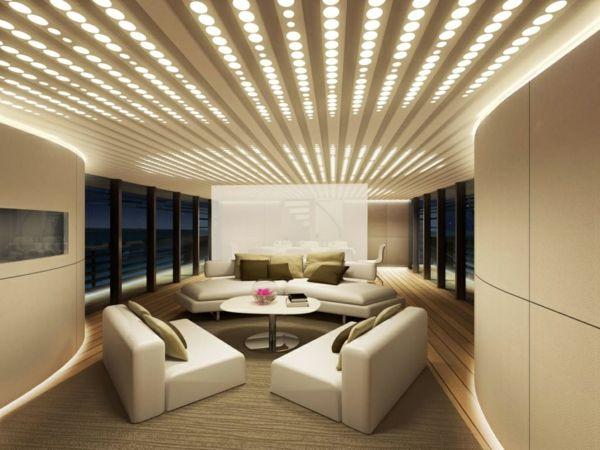 Ganz schön gewagt-modern Wohnzimmer Luxus