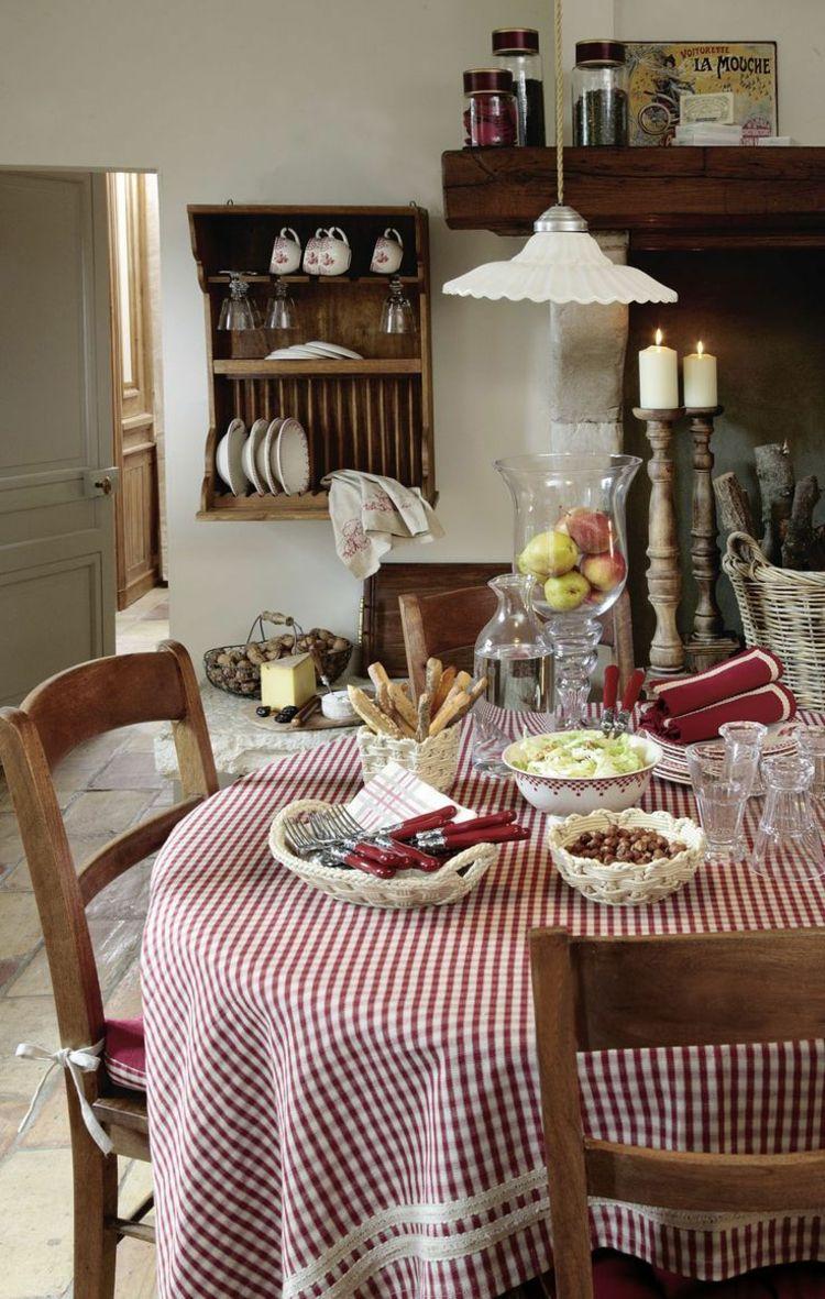 Genießen auf Französch - Küche in Landhausstil