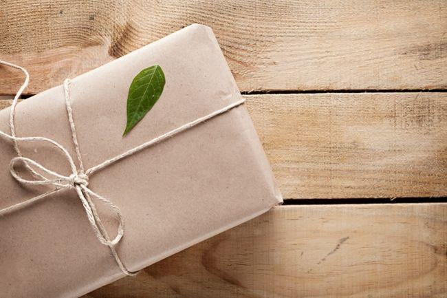 Geschenke umweltbewusst verpacken