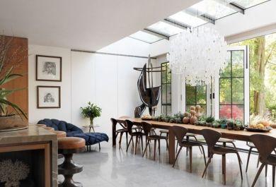Moderne Glashäuser