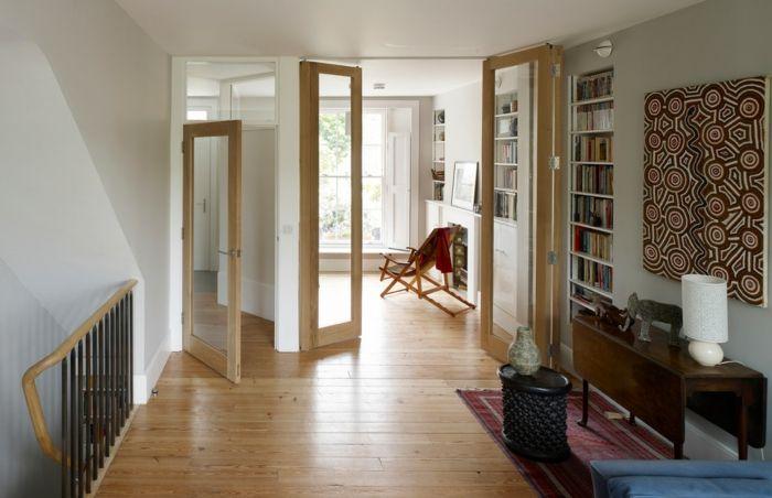 Glastüren sorgen für mehr Licht und Weite-Glastüren Interieur Lichtquelle