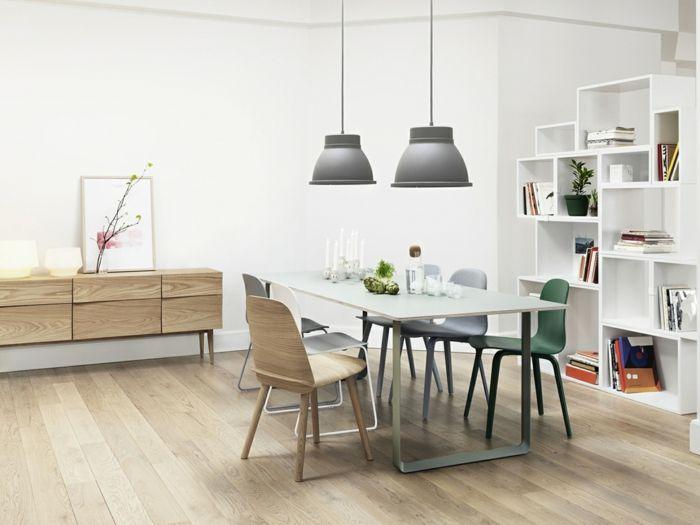 Großer Esstisch skandinavisches Design