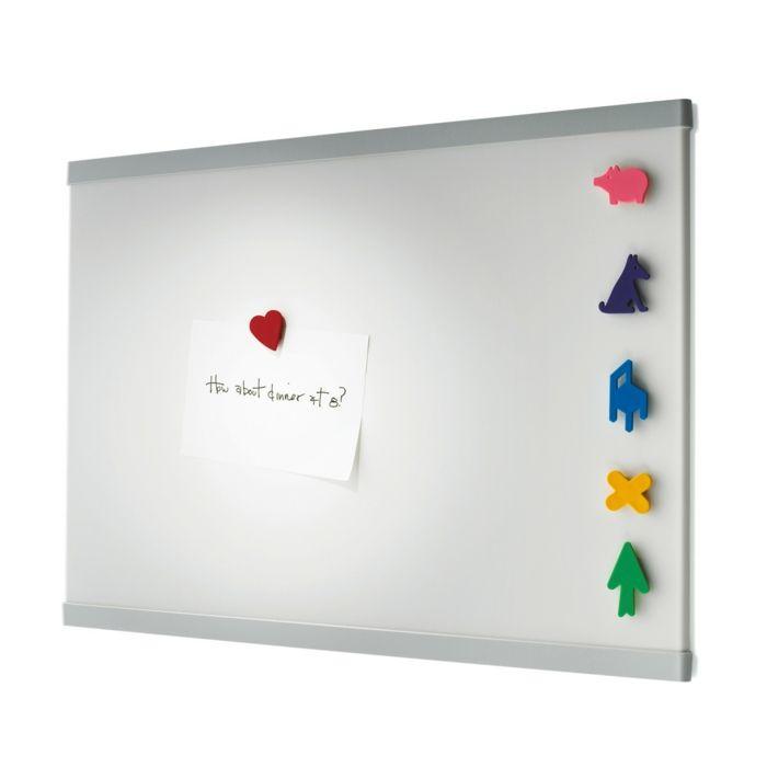 Hängen Sie Ihre Notizen, Fotos oder Einkaufsliste auf eine beliebte und nützliche Memotafel-Memo Magnettafel Stahlblech