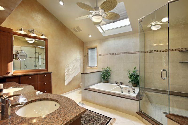 Harmonische Wirkung Badezimmer
