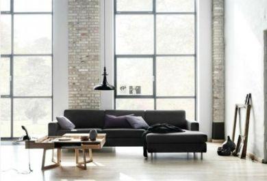 """Schwarze Möbel, weiße Wände und das Motto """"Breakfast at Tiffany\'s ..."""