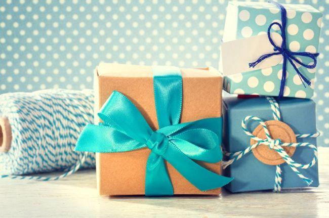 Ideen Geschenke verpacken Fest