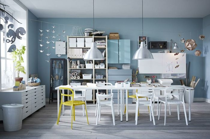 Ikea küchenmöbel holz weiße regale couchtisch bücherregal