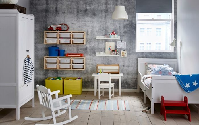 Ikea möbel einrichtungsideen regale kinderzimmer