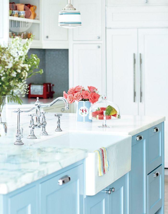 Küche im romantischen Shabby Chic Stil-ideen shabby chic