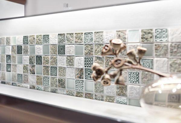 Küchenspiegel Küchenrückwand originell