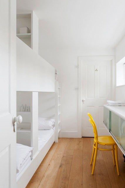 Kinderzimmer Weiß Thonet Stuhl Bugholz Gelb