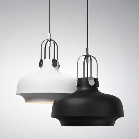 Klassische Pendelleuchten aus lackiertem Metall-Schatten-Wohnzimmerlampen