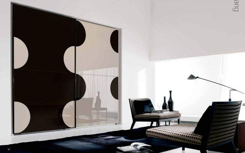 Kleiderschrank modern Ideen Schlafzimmer