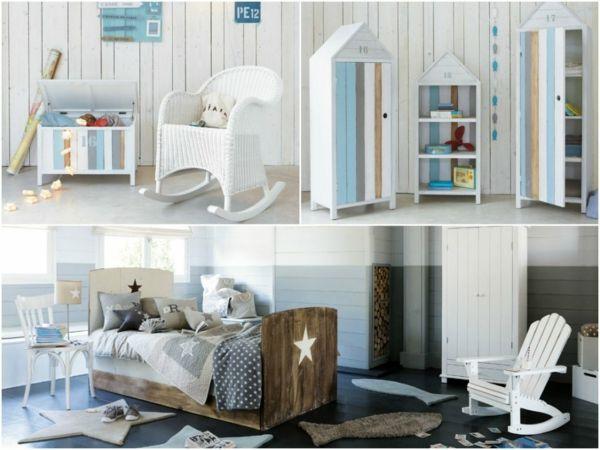 Mädchenzimmer in maritimen Einrichtungsstil