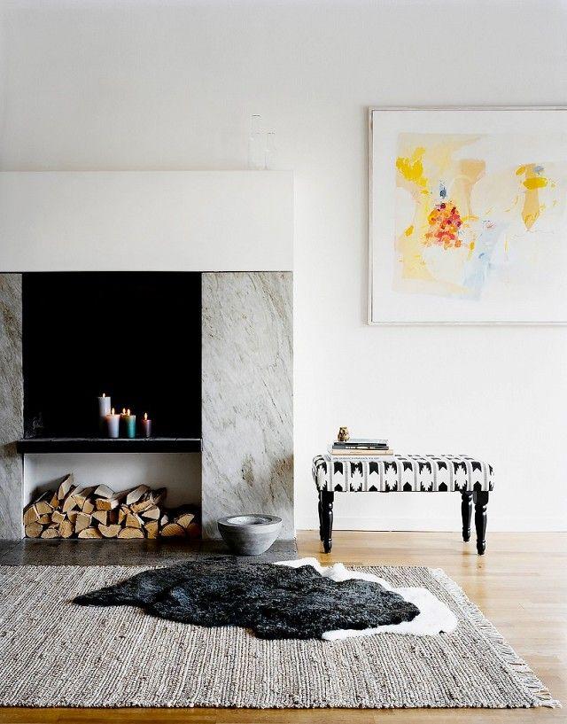 Minimalistischer Stil und Organisation-Sternzeichen Jungfrau Einrichtung