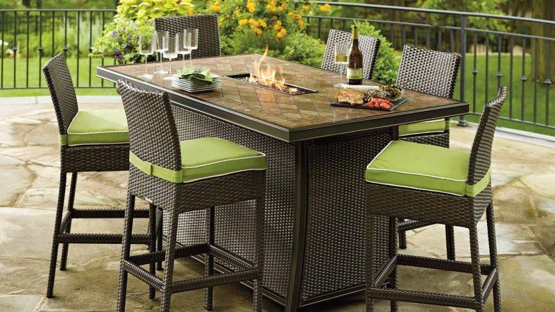 Moderne Gartentisch Designs aus Rattan