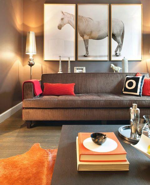 Modernes Triptychon-Wohnung erschwinglich gestalten Leinwand DIY Kunst